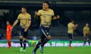 Javier Cortés celebra gol contra Monarcas