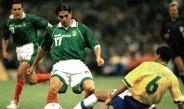 Palencia dispara en juego contra Brasil