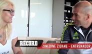Zidane, en entrevista con RÉCORD
