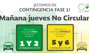 'Hoy no circula' se mantiene por contingencia ambiental