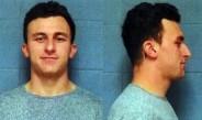 La foto que las autoridades tomaron a Johnny Manziel