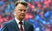 Van Gaal, lamentando una derrota con el United