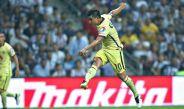 Osvaldo Martínez dispara a puerta contra Monterrey