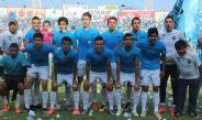 Los jugadores del Tampico-Madero previo a la Final de Segunda División