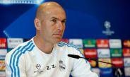 Zidane durante una conferencia de prensa