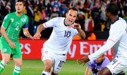Donovan celebra un gol frente a Argelia