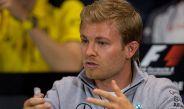 Nico Rosberg, durante la conferencia de pilotos previa al GP de Mónaco