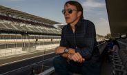 Adrián Fernández en el Autódromo Hermanos Rodríguez