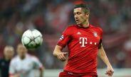Robert Lewandowski durante un encuentro disputado con Bayern Munich