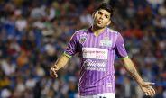 Romero en partido con Jaguares de Chiapas