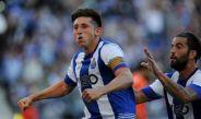 Herrera celebra un gol con el Porto