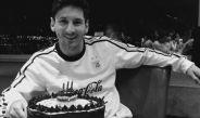Messi celebra su cumpleaños