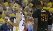 James y Curry durante Las Finales de la NBA