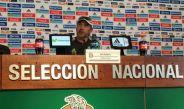 Potro Gutiérrez en conferencia de prensa