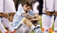 Lionel Messi afectado tras perder la Final de Copa América