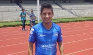 Ángel Reyna, en el Olímpico Universitario por el partido contra Pumas