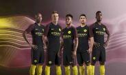 Equipación de visitante del Manchester City para la campaña 2016-17