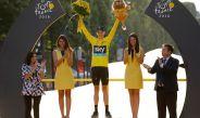 Chris Froome celebra su título en el Tour de Francia