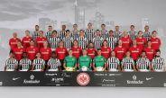 Foto oficial del Eintracht Frankfurt para la temporada 2016-2017