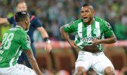 Borja celebra el gol con el que Atlético Nacional conquistó la Copa Libertadores