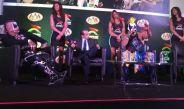 Pagano y Psycho en presentación de Triplemania XXIV