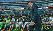 Juan Carlos Osorio en un encuentro del Tri en Copa América