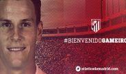 Así le dio la bienvenida el Atlético a Gameiro en Twitter