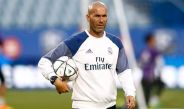 Zidane conduce el entrenamiento del Real Madrid