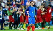 Griezmann se lamenta al término de la Final de la Eurocopa