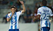 Urretaviscaya celebra su gol frente al Police United
