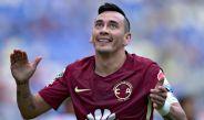 Rubens Sambueza sonríe durante el partido entre Puebla y América
