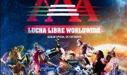 Portada del nuevo álbum de estampas de Lucha Libre AAA