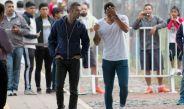 Carlos Salcedo e Higuera conversan previo a su salida