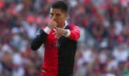 Barragán celebra un gol con el Atlas