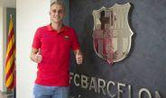 Jasper Cillessen feliz en su llegada al Barcelona