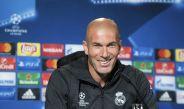 Zidane, durante la rueda de prensa celebrada antes del duelo contra el Dortmund