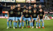 Jugadores del City posan previo a un encuentro de la MLS