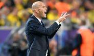 Zinedine Zidane durante el partido contra Borussia Dortmund