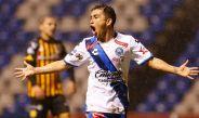 Bermúdez festeja un gol en la Copa MX
