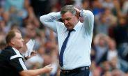 Allardyce se lamenta tras una jugada de Inglaterra