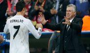 CR7 y Ancelotti festejan un tanto del astro luso