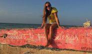 Nicole Regnier disfruta de la brisa
