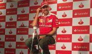 Sebastian Vettel, durante una conferencia en el Tec de Monterrey