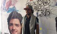 Carlos Sainz fue juez del concurso doodle art 3D en la UNAM