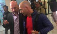 Paco Jémez llegando a la CDMX para reportar con Cruz Azul