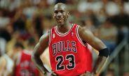 Michael Jordan durante un partido con los Chicago Bulls