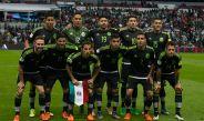 Once inicial de México en un partido en el Estadio Azteca