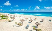 Una playa como esta puede ser tu recompensa por saber de futbol