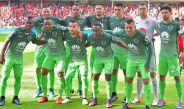 Los jugadores del América se toman la foto previo al partido contra Toluca