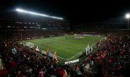Estadio Caliente, durante el partido de la Jornada 2 del C2017
